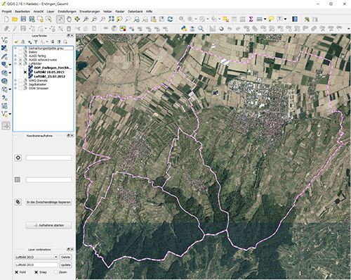 QGIS Geoinformationssystem